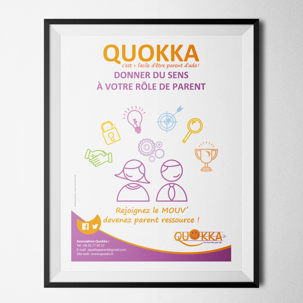 Affiche de l'association Quokka