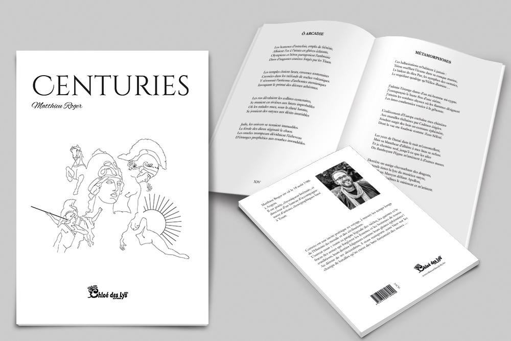 Mise en page et maquettage d'un recueil de poésies