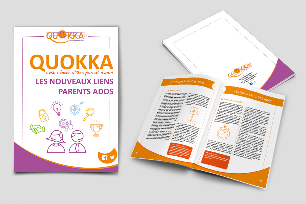 Brochure de l'association Quokka