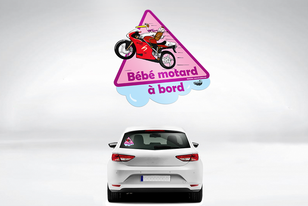 Sticker de voiture
