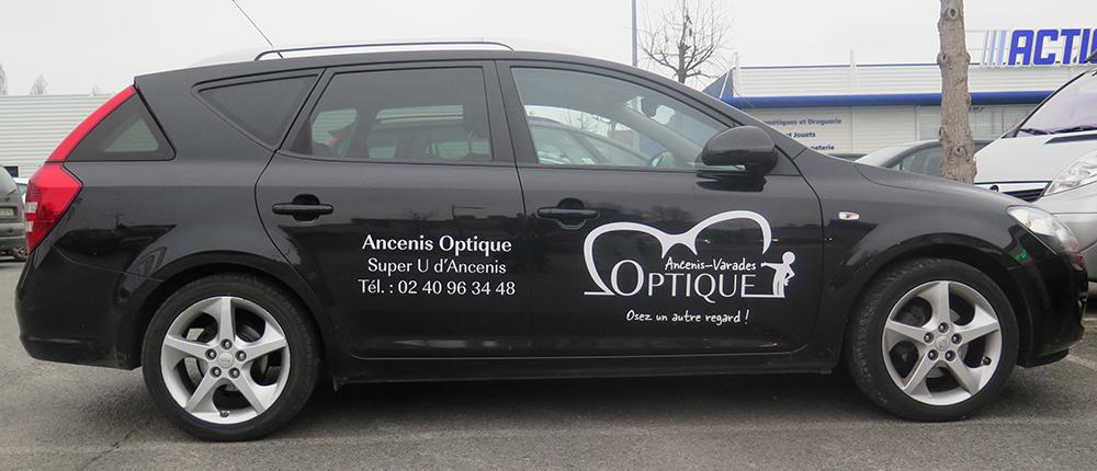 Stickers de voiture d'Ancenis-Varades Optique