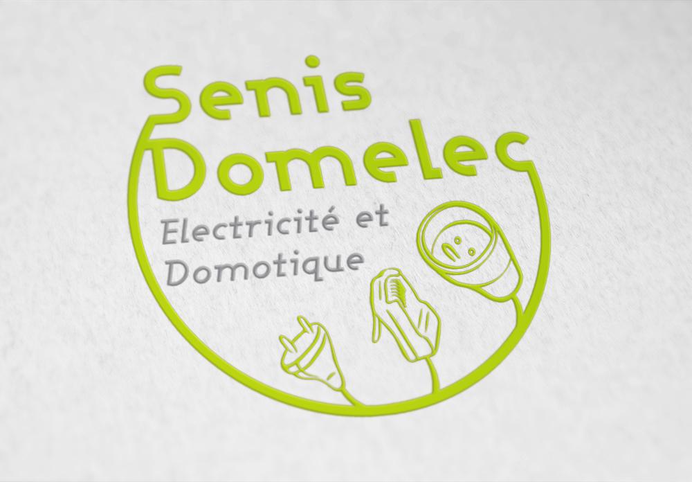 Logo de Senis Domelec