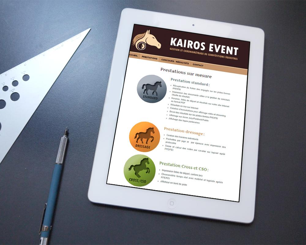 Site web www.kairosevent.fr