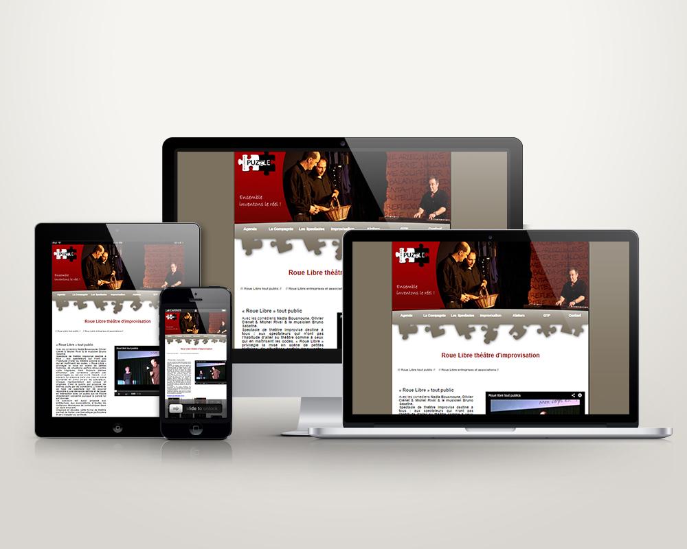 Site web www.theatrepuzzle.com
